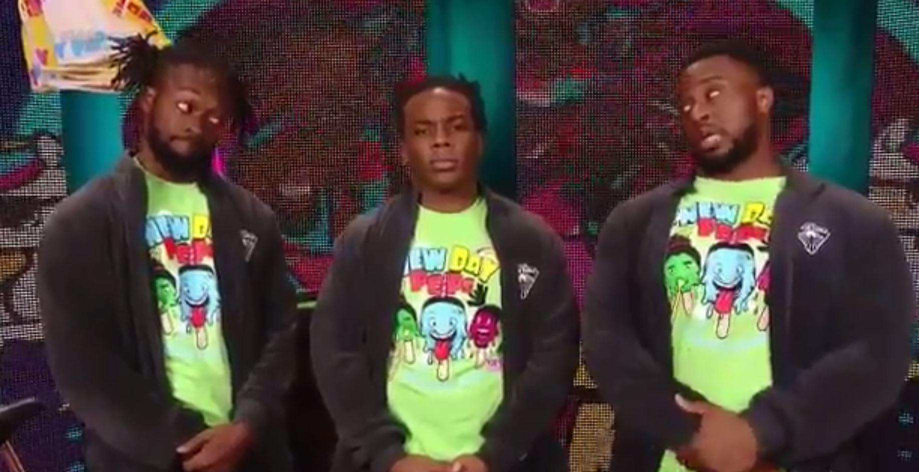 Paige sex tape: Xavier Woods looks sheepish on Raw as New ...