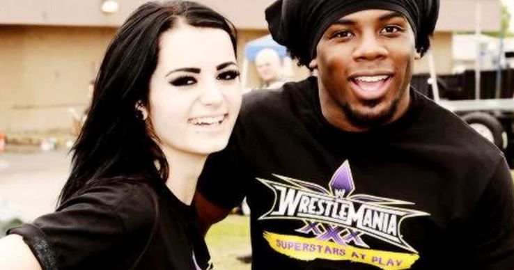 Friends With Benefits: 15 Pictures Of Paige And Xavier Woods ...