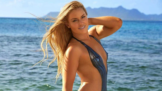Lindsey Vonn's Sexy Body Paint : Latest news, Breaking news ...