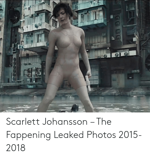 Scarlett Johansson – the Fappening Leaked Photos 2015-2018 ...
