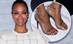 Zoe Saldana says too many stars cover up their post ...