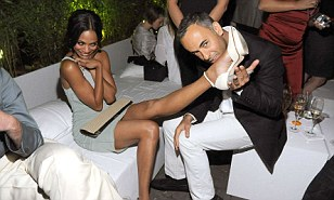 Zoe Saldana's new boss at Calvin Klein measures up his ...