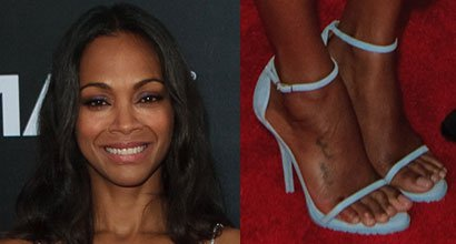 Zoe Saldana's Height, Outfits, Feet, Legs and Net Worth