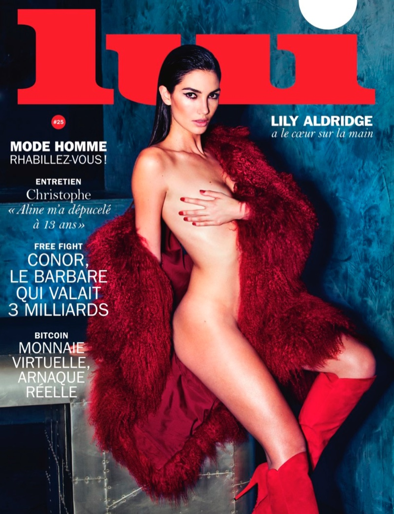 Lily Aldridge Strips Down for Sexy Lui Cover Story | Fashion ...