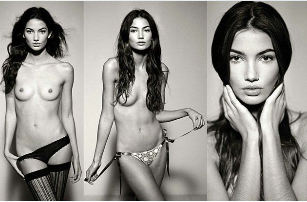 Lily Aldridge Nude Photo Compilation