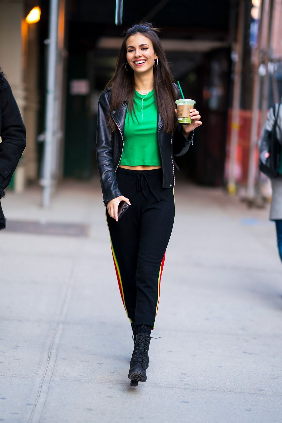 VICTORIA JUSTICE Out in New York 03/17/2018 – HawtCelebs