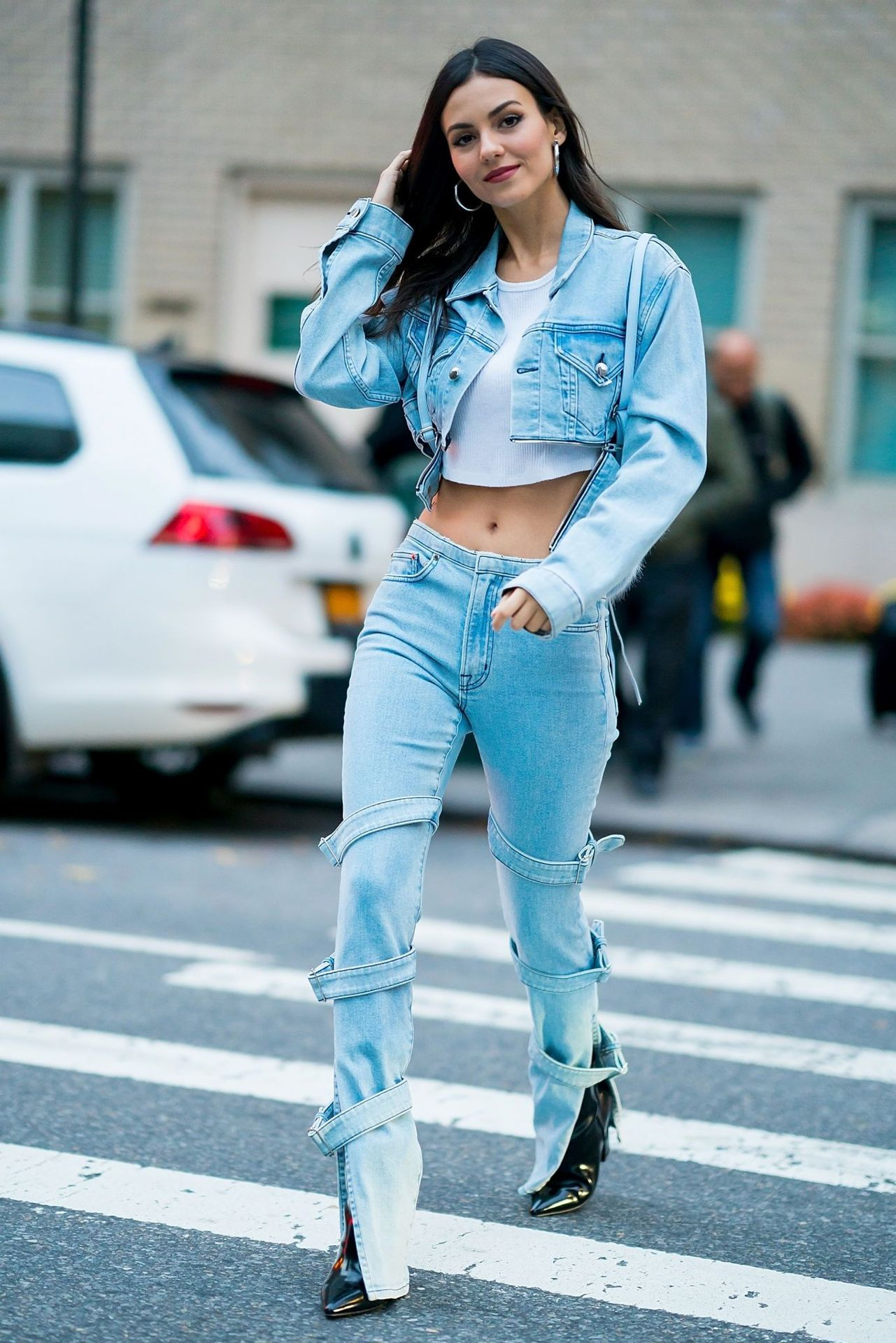 Victoria Justice New York City November 7, 2018 – Star Style