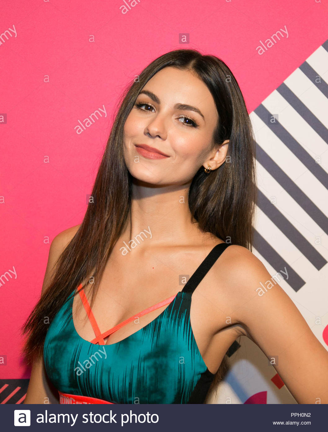 New York, NY, USA. Sept 25, 2018. Victoria Justice attends ...