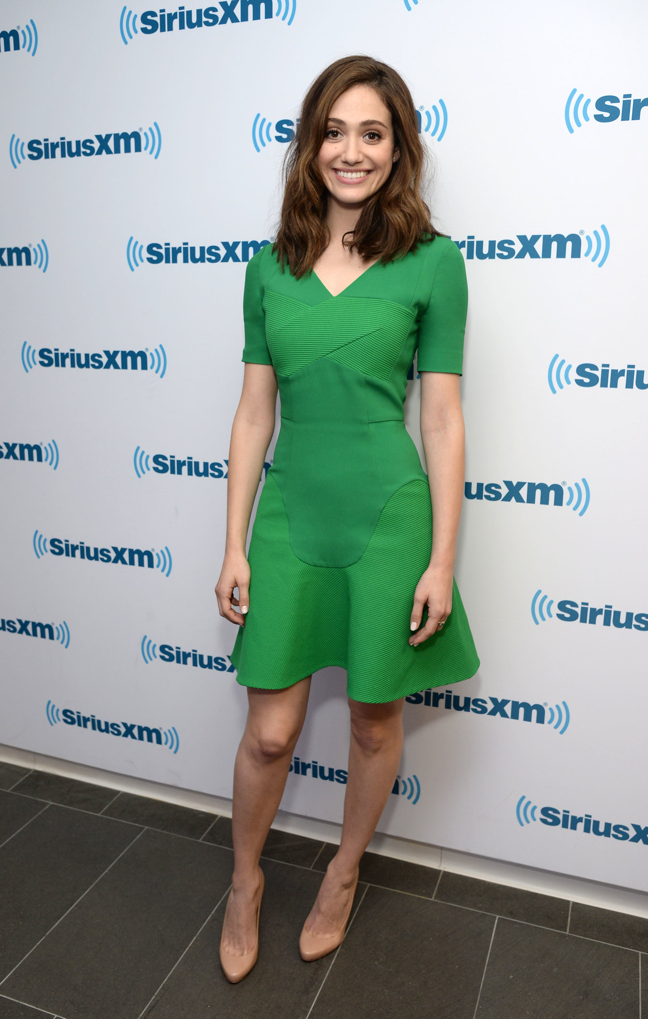 Emmy Rossum and Sway - SiriusXM Studios in NYC 03/17/2015 HQ ...