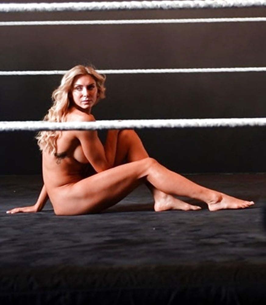 WWE Charlotte Flair Nude sports photoshoot - WWE DIVAS PORN