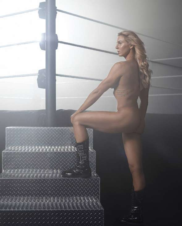 ESPN Releases Charlotte Flair Photoshoot From Body Issue