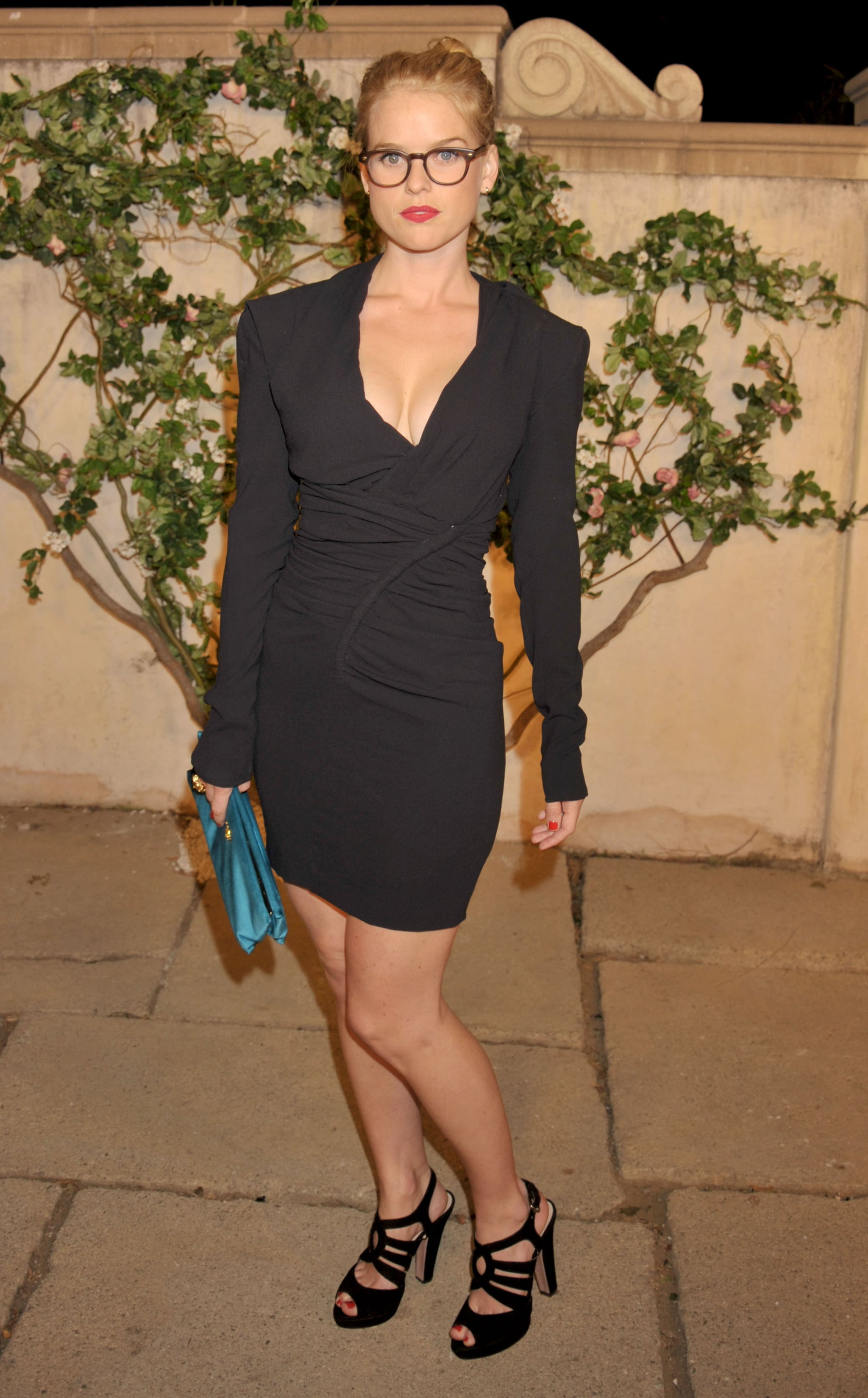 We love this geeky-chic look from Alice Eve — it's equal ...