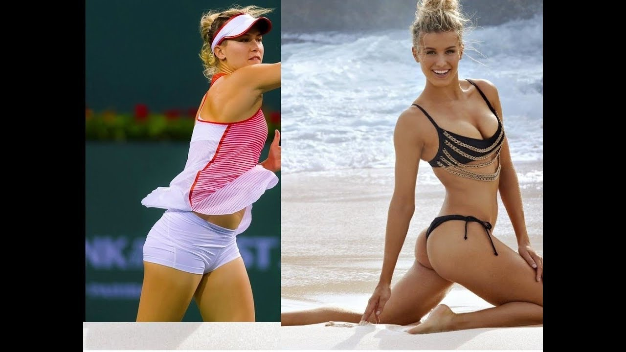 Genie Bouchard | The Hottest Canadian Tennis Star - YouTube