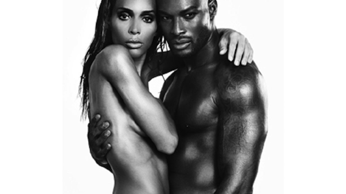 Tyson Beckford and Trans Model Ines Rau Are Gorgeously Naked