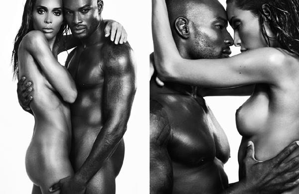 Supermodel Tyson Beckford & Transgendered Model Ines Rau Are ...