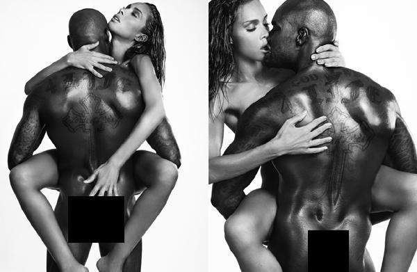 PHOTOS: Tyson Beckford Nude with Transgender Model Ines Rau ...