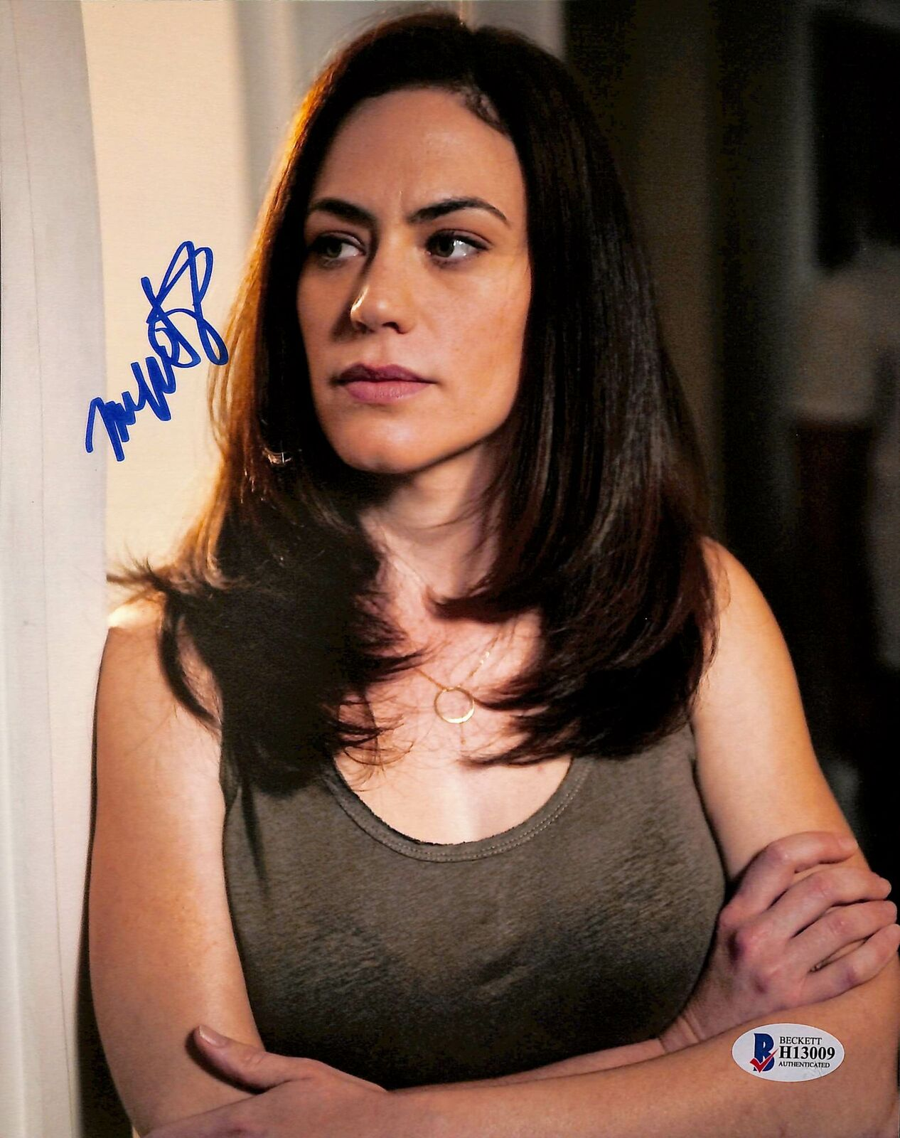 Maggie Siff Sons of Anarchy Sexy Signed 8x10 Photo BAS #H13009