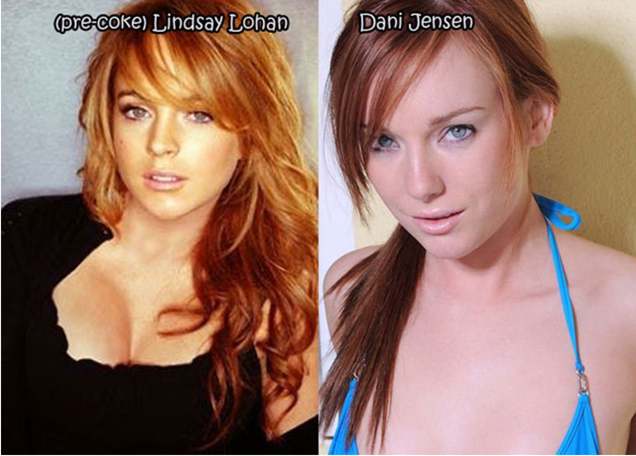 Celebrity Porn Star Look-A-Likes for