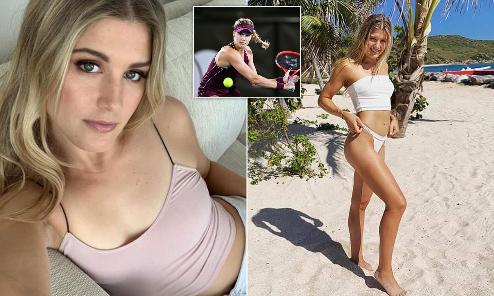 Eugenie Bouchard hunts for a date on Instagram from her Australian ...