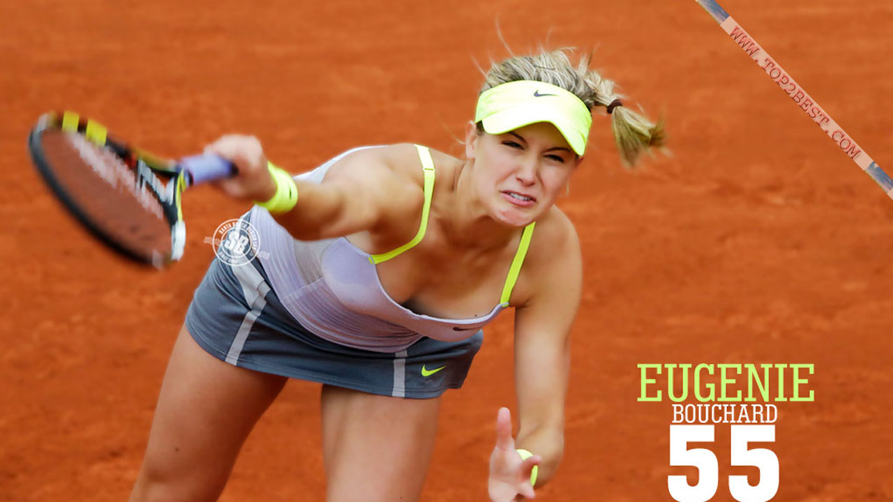 Eugenie Bouchard Hot Pic - Top 2 Best