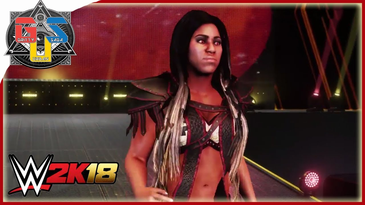 WWE 2K18 Ember Moon Entrance! HOT Graphics and Animation! - YouTube
