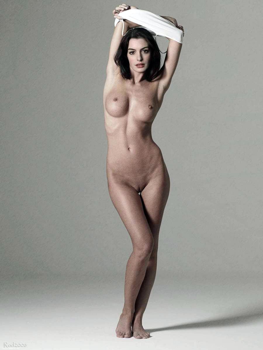 Anne Hathaway  nackt